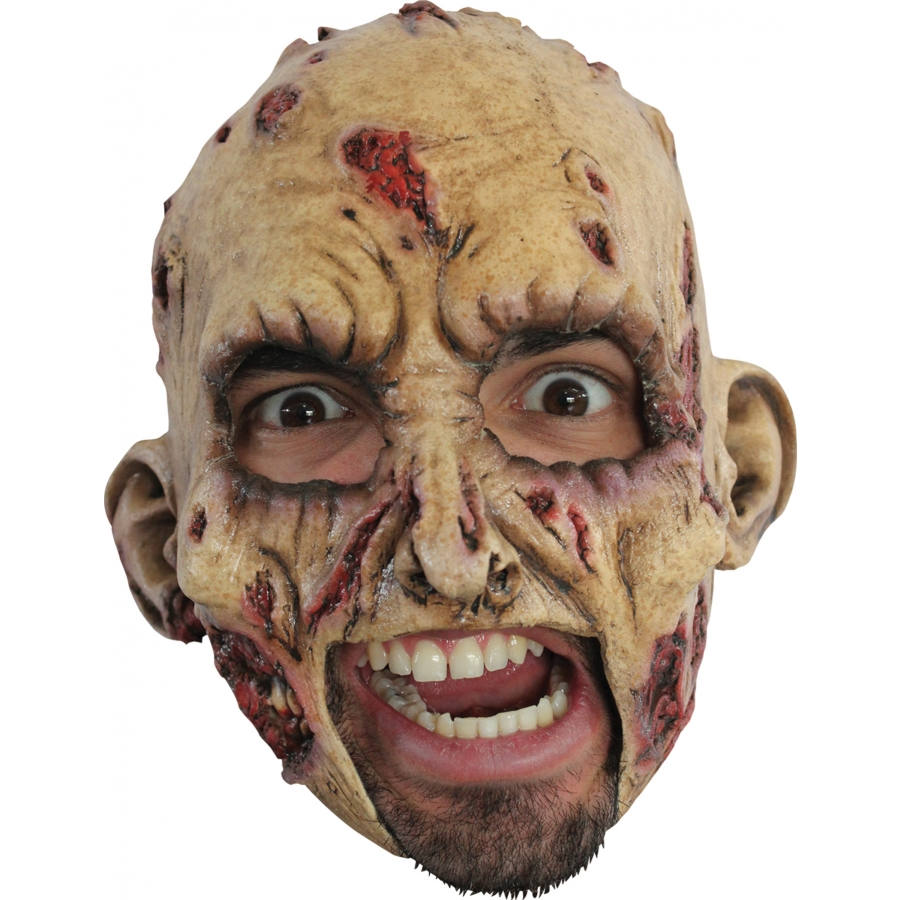 ZOMBIE LATEX MASK
