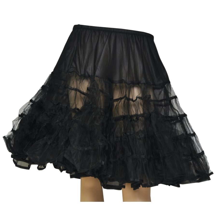 PETTICOAT BLACK KNEE LENGTH
