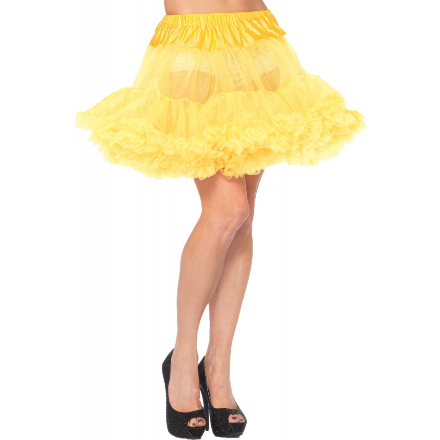 PETTICOAT YELLOW ADULT