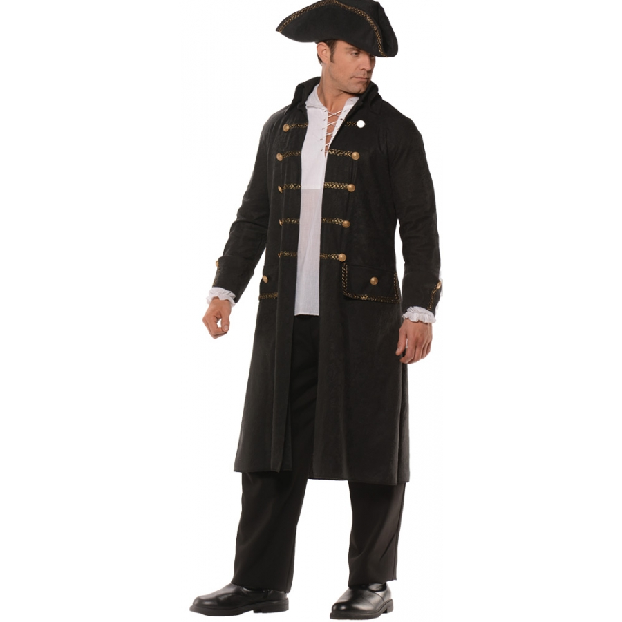 PIRATE COAT SET AD BLACK STD