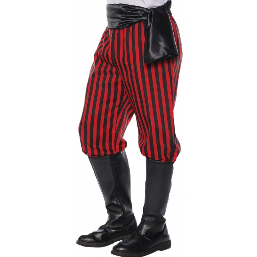 PIRATE PANTS AD REDBLACK STD