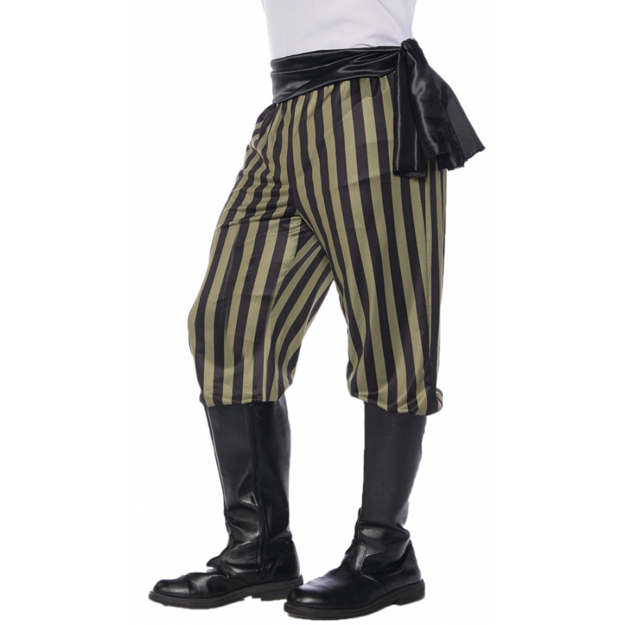 PIRATE PANT AD GREENBLACK S