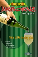 Airborne Magnetic Champagne with Ultra Glass