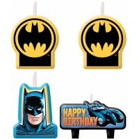 BATMAN CANDLE SET