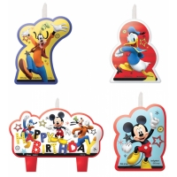 DISNEY MICKEY CANDLE SET