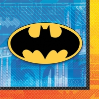 BATMAN BEV NAPKINS 16 PACK