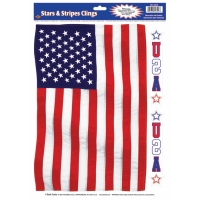 STARS STRIPES CLING