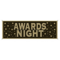 AWARDS NIGHT BANNER 21in X 5FT