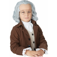 BENJAMIN FRANKLIN WIG CHILD