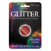 GLITTER RED 0.1 OZ CARDED