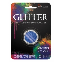 GLITTER BLUE 0.1 OZ CARDED