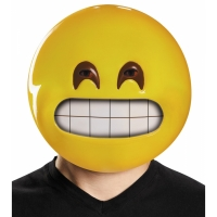 GRIN EMOTICON MASK