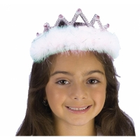 TIARA MARABOU WHITE DIAMOND