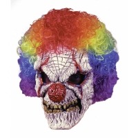 CLOWN MASK W WIG