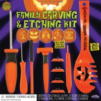 PUMPKIN 20 PC CARV & ETCH KIT