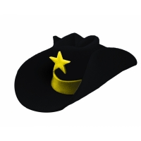 40 Gallon Hat Black
