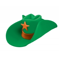 40 GALLON HAT GREEN