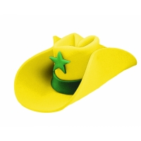 40 GALLON HAT YELLOW