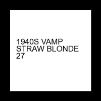 1940S VAMP STRAW BLONDE 27