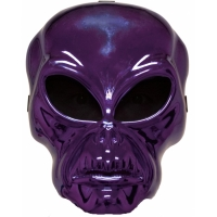 ALIEN HOCKEY PURPLE MASK