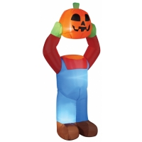 INFLATE HEADLESS PUMPKIN 4ft