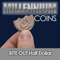Bite Out Half Dollar