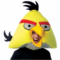 ANGRY BIRDS YELLOW MASK ADULT