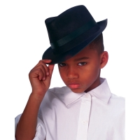 FEDORA CHILD BLACK