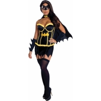 BATGIRL DELUXE ADULT LARGE