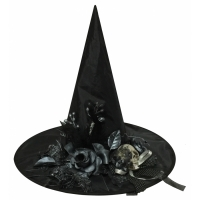 WITCH HAT WBONE SKULL