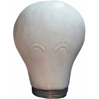 LIGHT BULB LATEX MASK