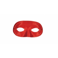 HALF DOMINO MASK RED