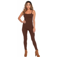 BASIC UNITARD ADULT BROWN MED
