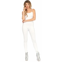 BASIC UNITARD ADULT WHITE MED