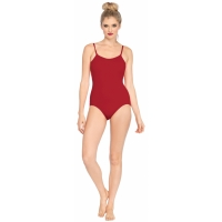 BASIC BODYSUIT AD RED SM MED