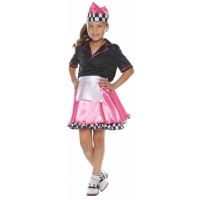 50S CAR HOP CHILD SMALL 4 6