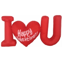 INFLATE VALENTINES DAY 4FT LED